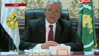 بالفيديو..محافظ المنيا: الرئيس السيسى أبلغنا أثناء حلف اليمين أننا فى مهمة قتالية وحرب
