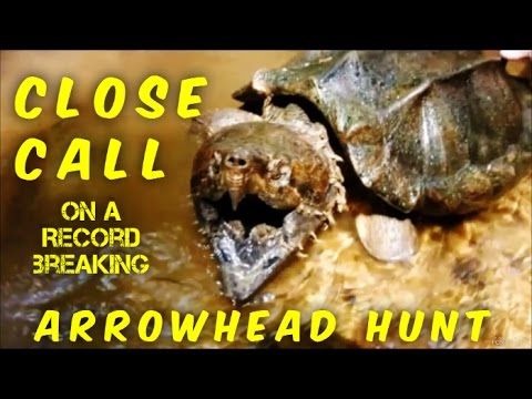 Arrowhead Hunting - Ending Our Creek Hunting Season With a Bang - We Never Expected This