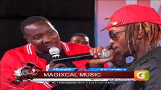 10 OVER 10 | Magix Enga performs his new song 'Yoyo' live on 10over10