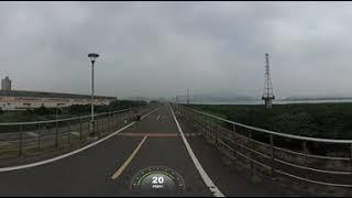 Garmin virb 360測試-淡水河騎車360縮時拍攝