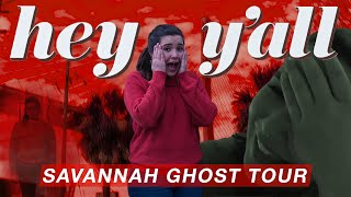 Savannah Ghost Tour | Exploring The Haunted Marshall House | Hey Y'all