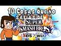 10 Curiosidades de Super Smash Bros 4 Wii U 3DS