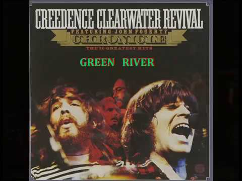 Creedence Clearwater Revival - Green River - HD - Lyrics
