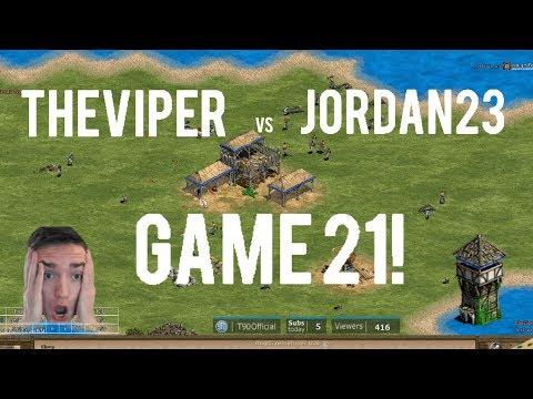 TheViper vs Jordan_23! Finale! Game 21!