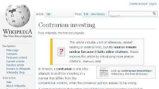Contrarian Trading Strategy