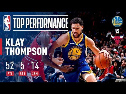 Klay Thompson Drops 52 & BREAKS NBA RECORD With 14 3-Pointers | October 29, 2018