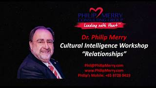 Cultural Intelligence Keynote Sri Lanka - Relationships