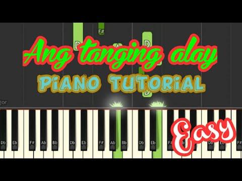 Ang tanging alay ko piano tutorial very easy..
