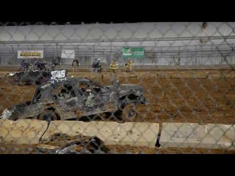 Demolition Derby at Monroe County Fairgrounds