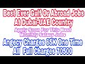 Best Ever Jobs In Gulf Country, Abroad Jobs At Dubai-UAE,  Of Post Electrician Or Plumber etc, Hindi