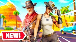The NEW WILD WEST SKINS In Fortnite!