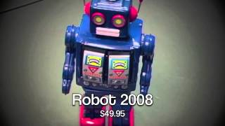 Classic Mechanical Wind-up Robot Collectibles