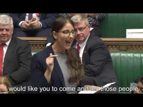 AMAZING - LAURA PIDCOCK MAIDEN SPEECH: LABOUR MP FOR CO DURHAM