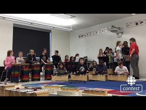 """""""I's the B'y"""" - École Sage Creek School #CBCMusicClass"""