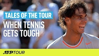 Tennis Is Tough   TALES OF THE TOUR   ATP