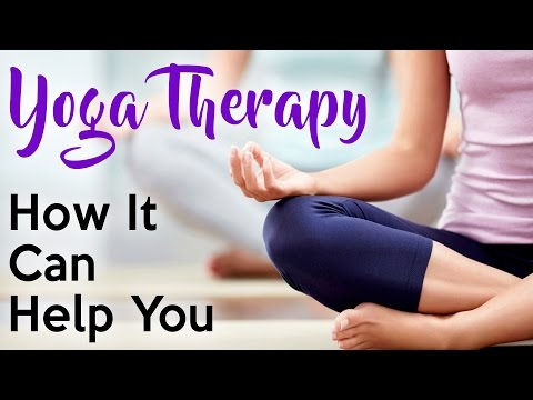 What is Yoga Therapy? Improve Health, Pain Relief, Stress, Sleep, Depression, Weight Loss