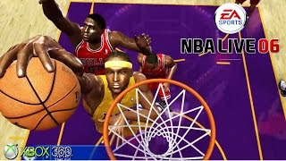NBA Live 06 - Gameplay Xbox 360 (Release Date 2005)