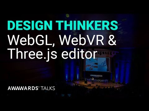 WebGL, WebVR & Three.js editor with Ricardo Cabello and Jaume Sanchez