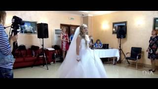 Подарок от невесты жениху - песня с признанием в любви. Железногорск, 2014