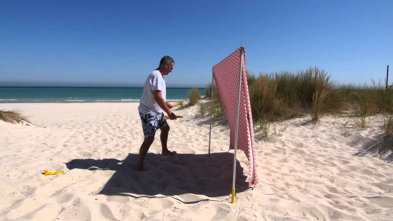 Beach Tent Set Up Video By Lovin Summer Youtubehd Youtube