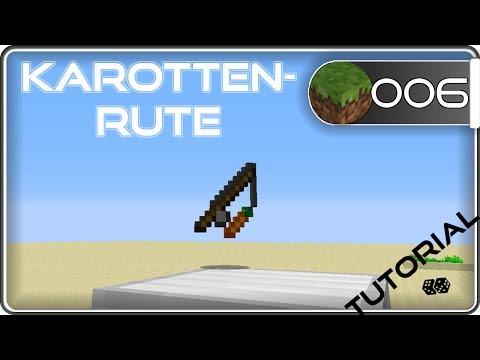 🌟 Minecraft Karottenrute - Craften - Schweine Steuern   Wiki   Tutorial #6   Deutsch   CLM