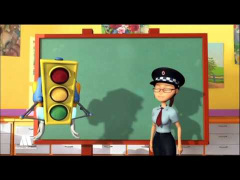 GreenLight - Traffic signs for kids, educational videos to learn road safety