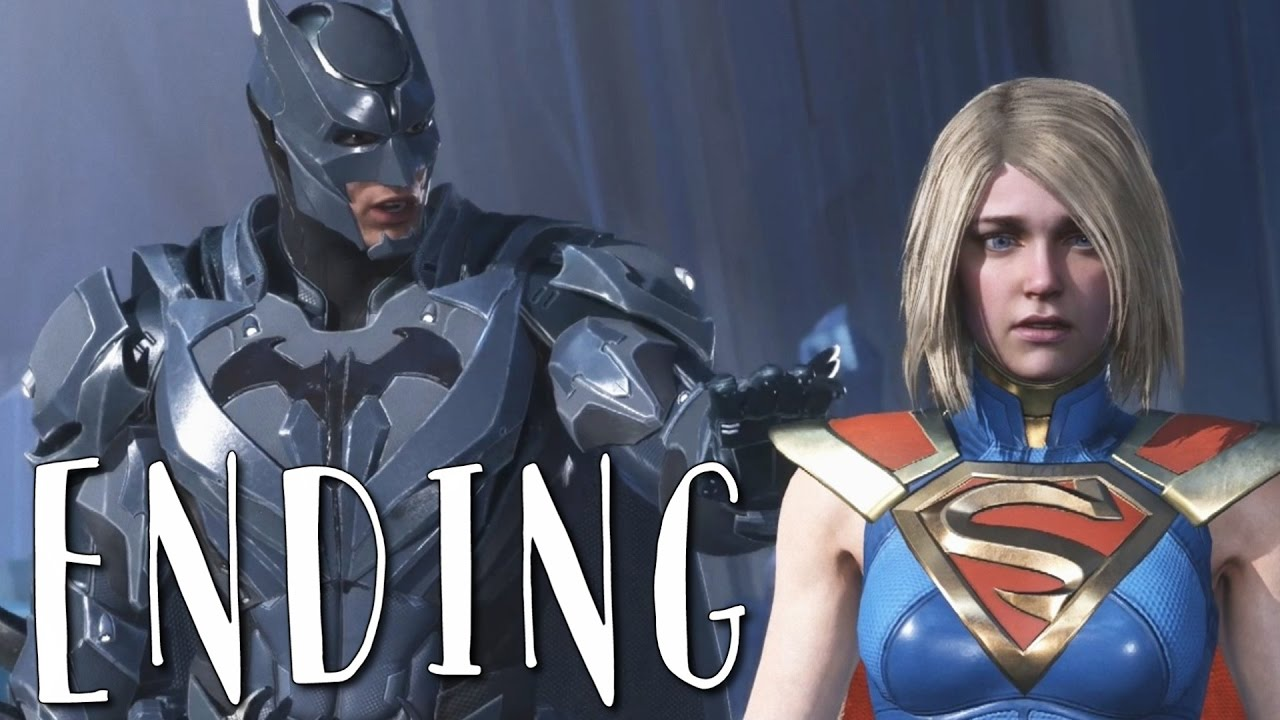 INJUSTICE 2 GOOD ENDING (BATMAN ENDING) Walkthrough Gameplay Part 15 (Story Mode)