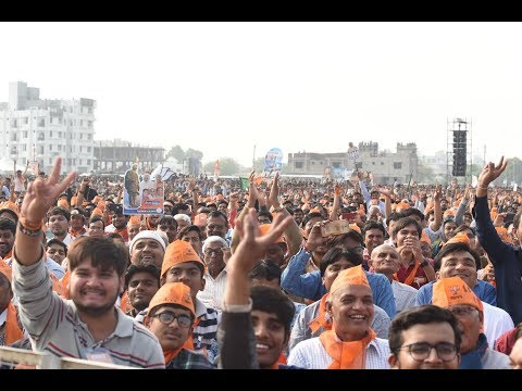 PM Modi addresses Public Meeting in Kalol, Gujarat