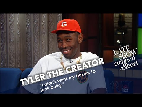 Tyler, The Creator Comes Out In Boxers, Grabs Stephen's Butt