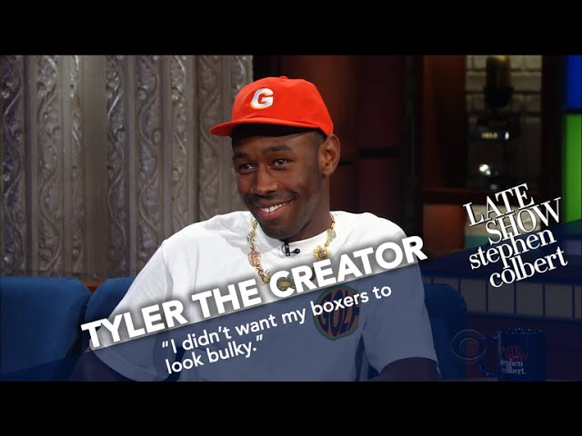 Tyler, The Creator Wears Boxers In Late Nights Coldest Theater