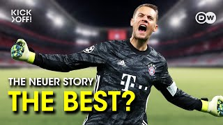 Manuel neuer helped reinvent the goalkeeper position and define role of modern goalie. we track neuer's evolution from schalke shot stopper to bayern...