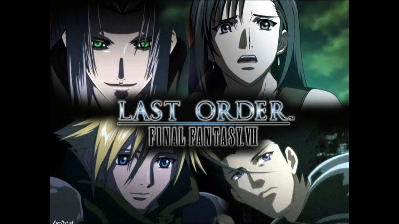 Pelicula OVA Final Fantasy The Last Order Español