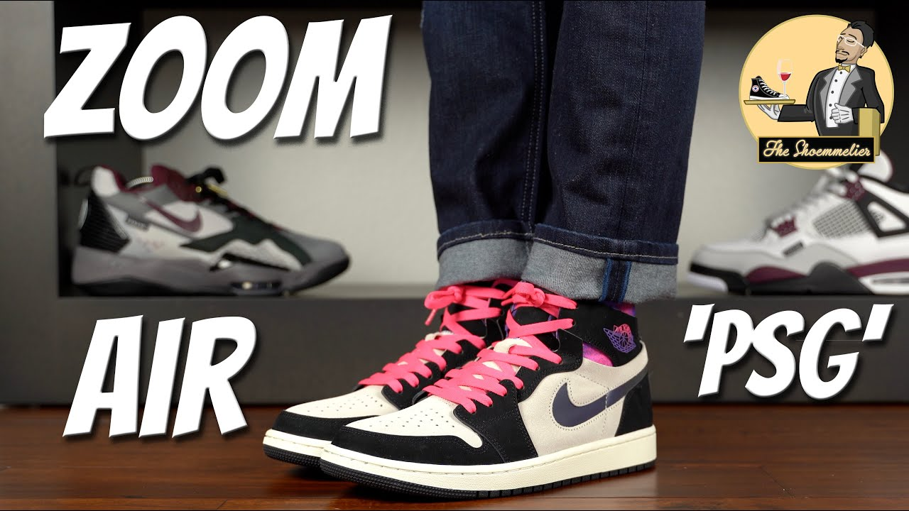 Nike Air Jordan 1 Zoom Air Comfort x Paris Saint Germain • On Feet & Overview