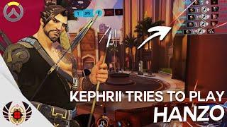 Kephrii Tries to play Hanzo