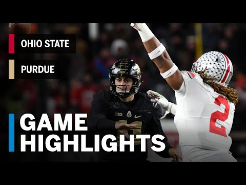 Highlights: Ohio State Buckeyes vs. Purdue Boilermakers | Big Ten Football