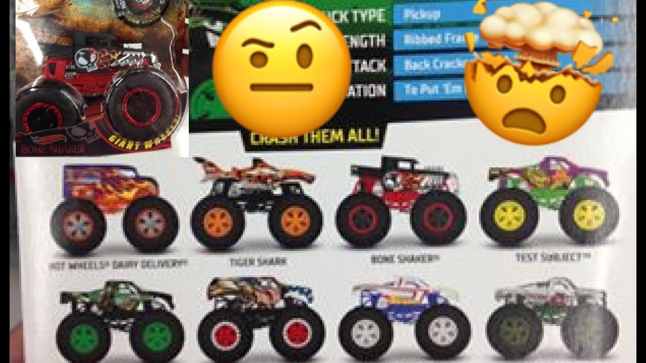 New 2019 Hot Wheels Hot Wheels Monster Trucks Youtube