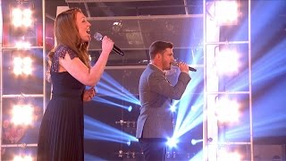 Lucy O'Byrne Vs Karl Loxley - Battle Performance: The Voice UK 2015 - BBC One