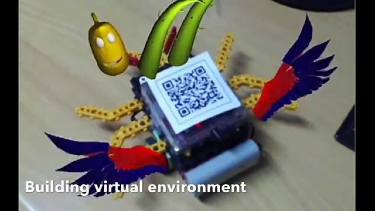 augmented reality qr
