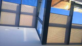 Жалюзи Плиссе потолочные с электроприводом