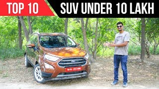 Top 10 Best SUV Under 10 Lakh in India