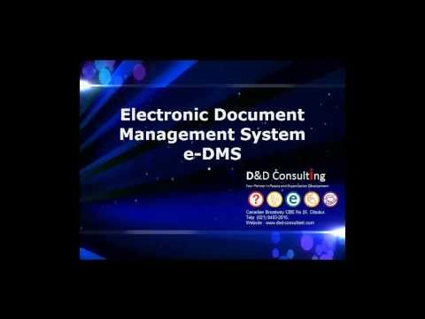 Electronic Document Management System (e-DMS)