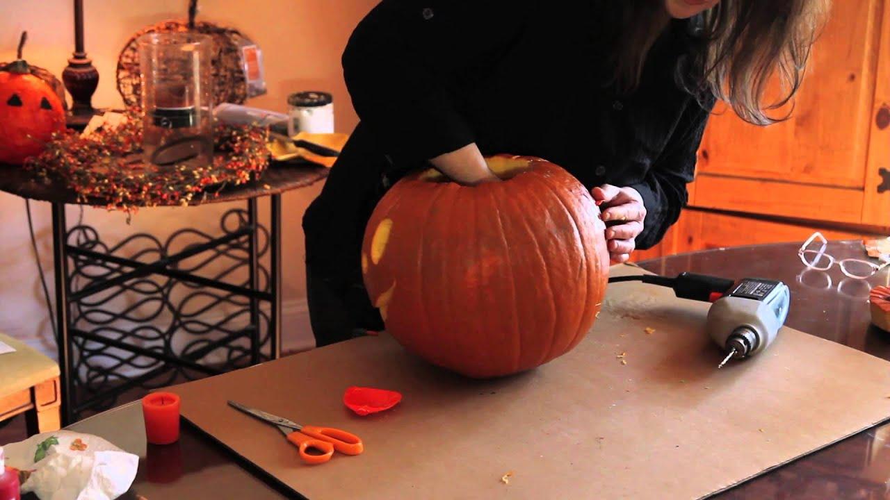 Electric Pumpkin Carving Crafts