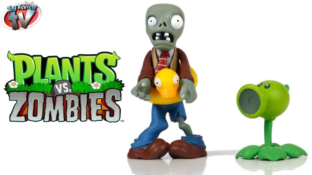 Plants Vs Zombies Fun Dead Ducky Tube Zombie Amp Peashooter