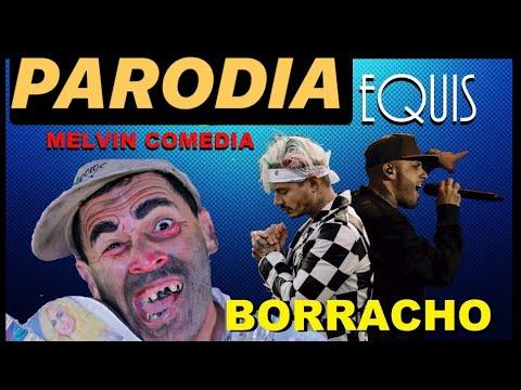Nicky Jam X J. Balvin EQUIS ( NUEVA PARODIA ) Borracho Mao / Melvin Comedia