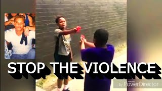 STOP ✋ THE VIOLENCE !