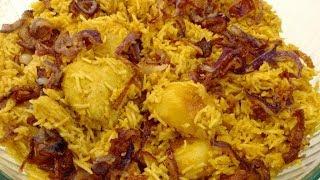 Easy homemade Chicken Biryani | Kolkata style Biryani from Mother