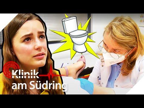 """""""Nicht dein ERNST"""" Wieso muss die Schlagersängerin so oft auf Toilette? 🚽   Klinik am Südring  SAT.1"""