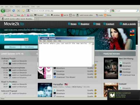 where to watch movies online for free! (no downloading needed) - YouTube