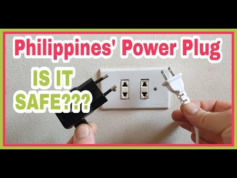 Difference Of European And Philippines Power Or Electrical Plug