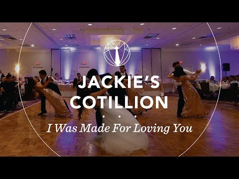 Jackie's Cotillion | I Was Made For Loving You by Tori Kelly